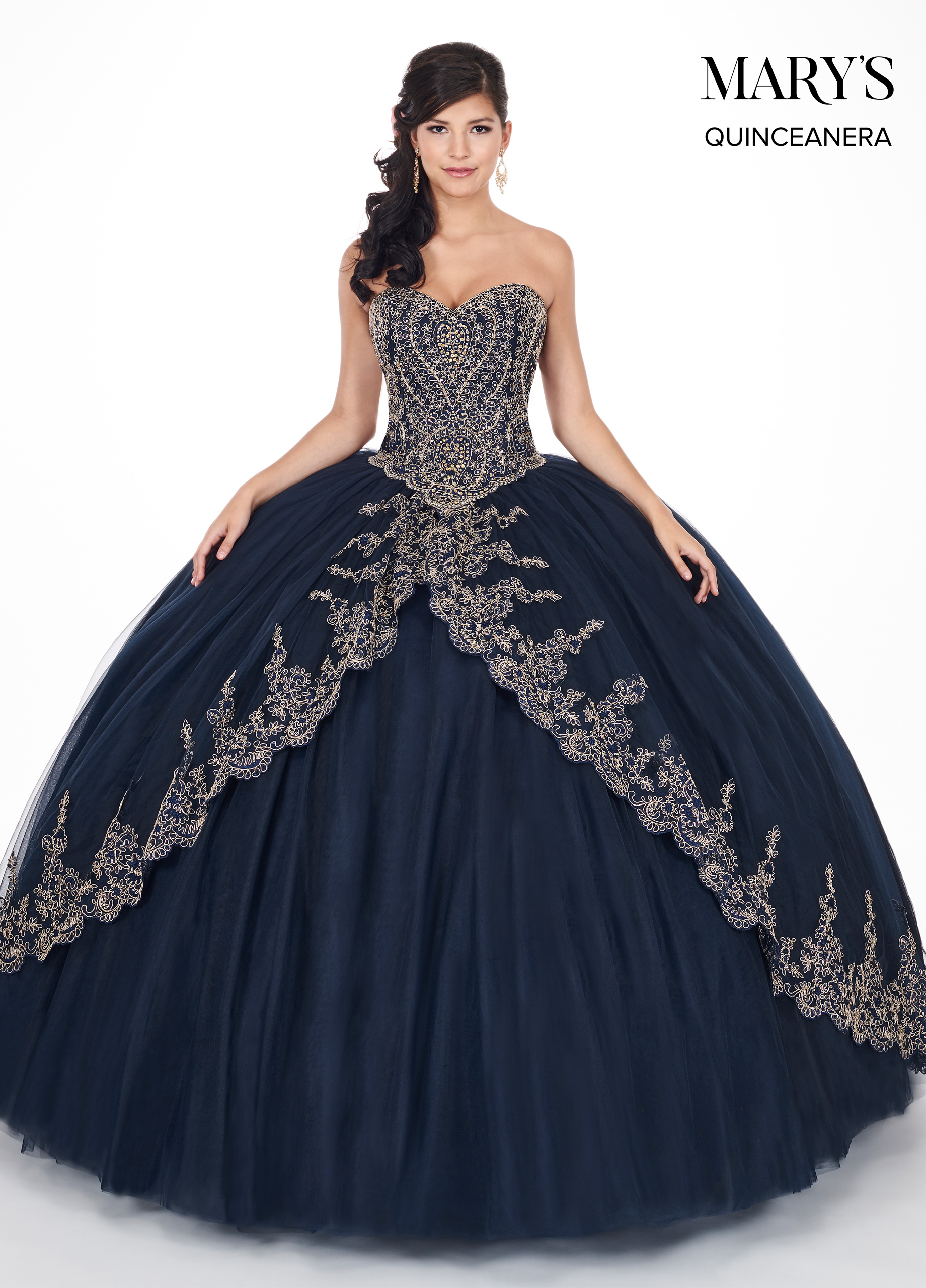 Marys Quinceanera Dresses | Mary's Quinceanera | Style - MQ1035