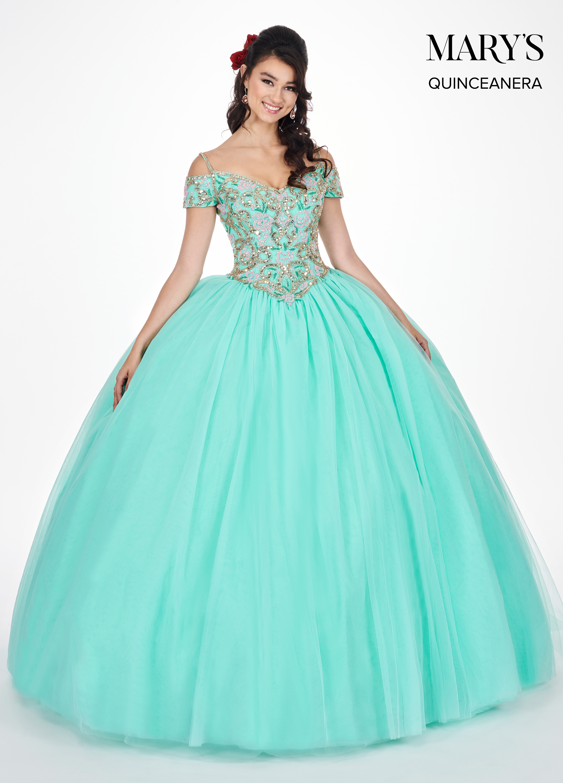 Carmina Quinceanera Dresses | Carmina | Style - MQ1036