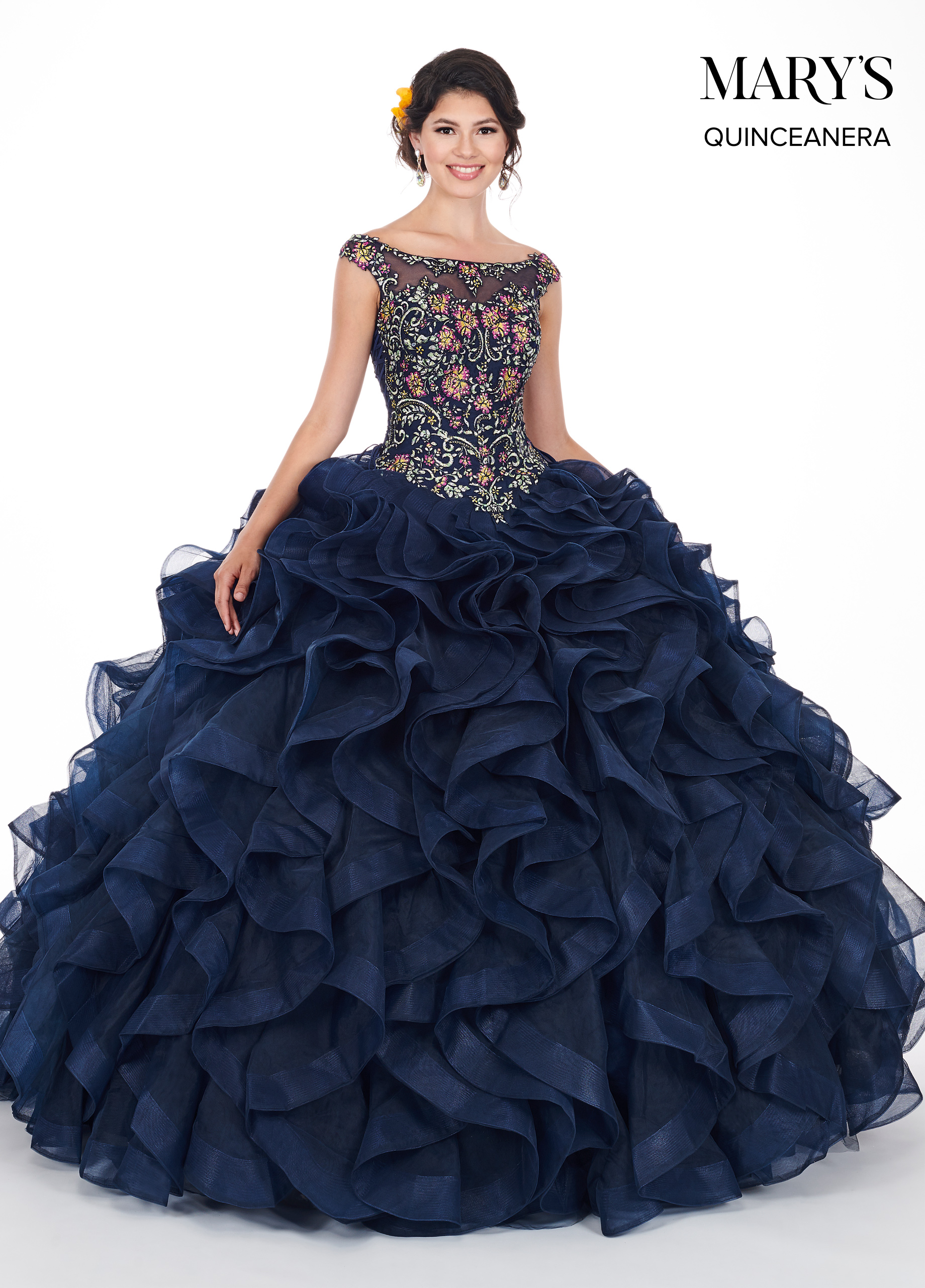 Marys Quinceanera Dresses Style Mq1037 In Periwinkle