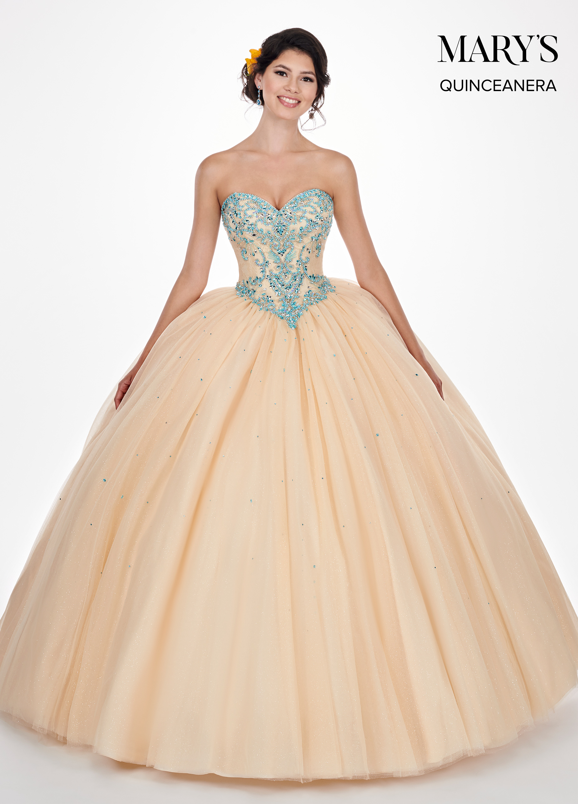 Marys Quinceanera Dresses | Mary's Quinceanera | Style - MQ1040