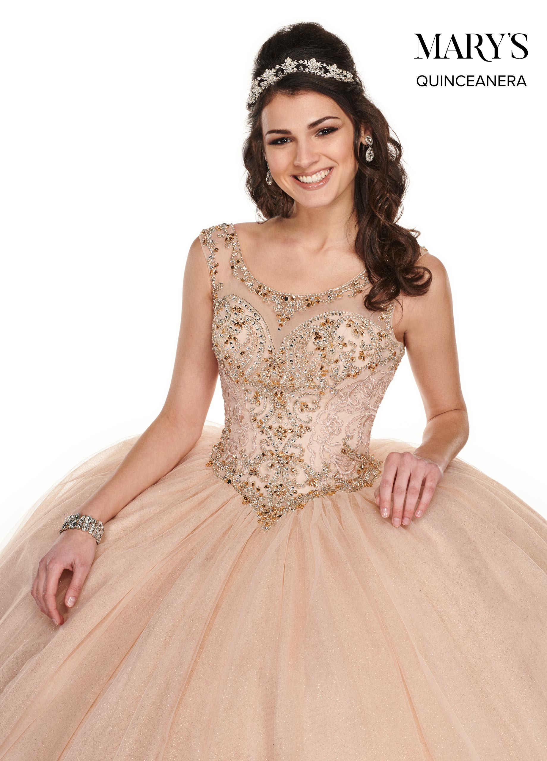 Marys Quinceanera Dresses | Mary's Quinceanera | Style - MQ1049