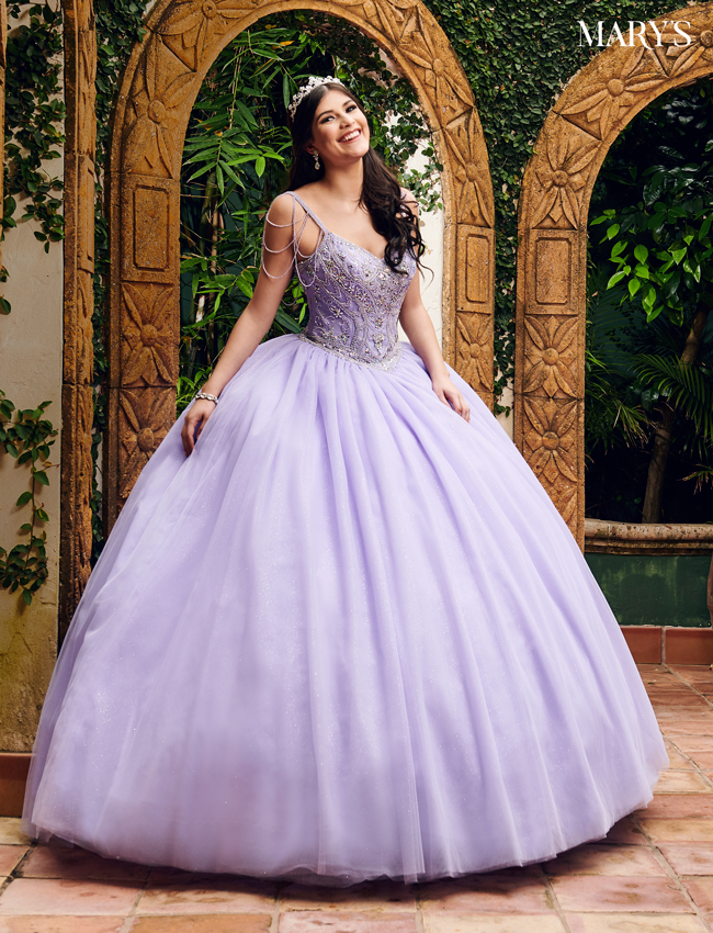 Lavender - quince Color Marys Quinceanera Dresses - Style - MQ1053