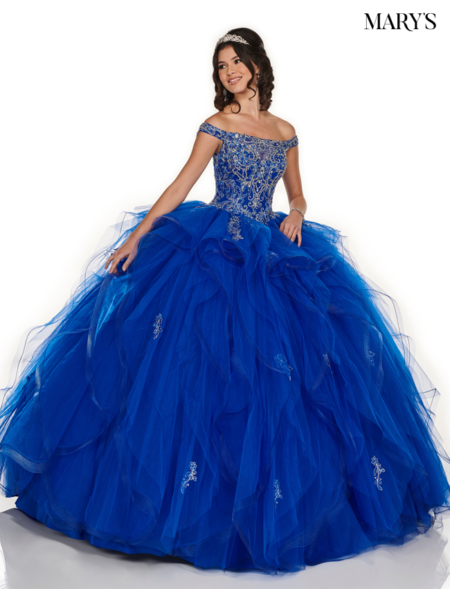 Royal Color Marys Quinceanera Dresses - Style - MQ1056