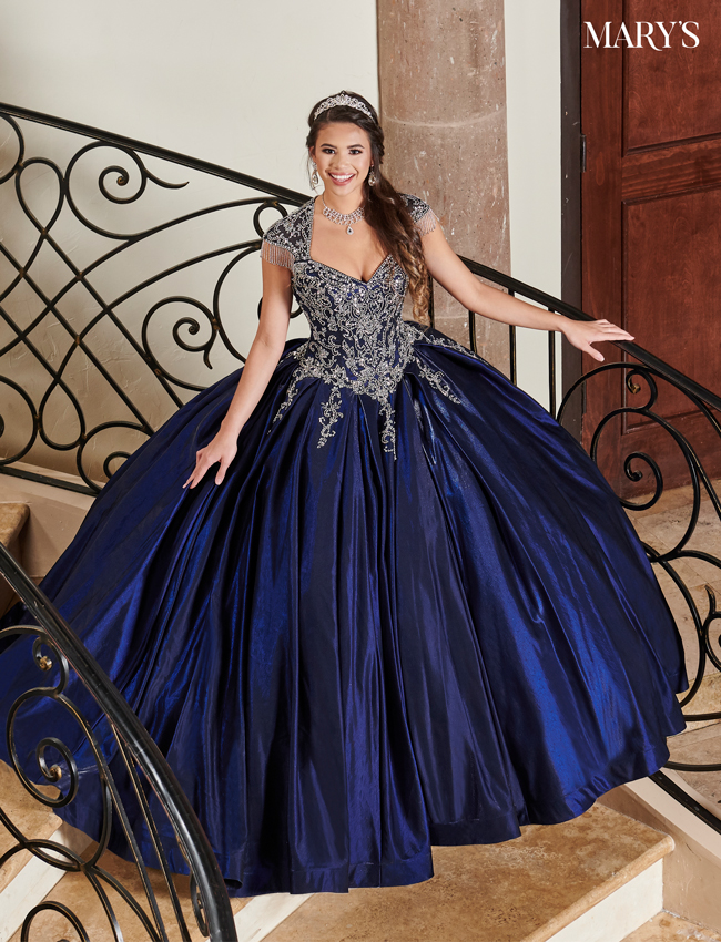 Burgundy Color Carmina Quinceanera Dresses - Style - MQ1069