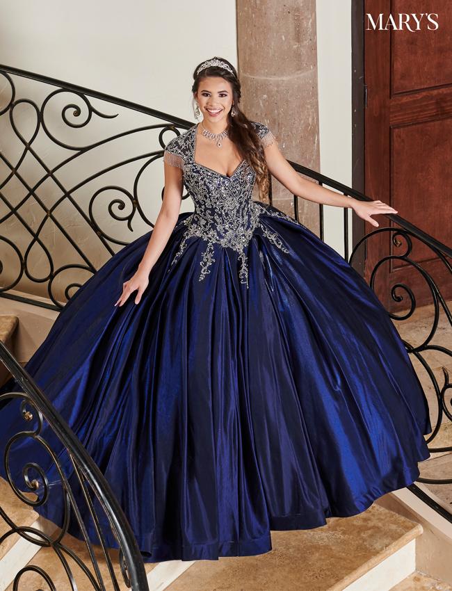 Color Carmina Quinceanera Dresses - Style - MQ1069