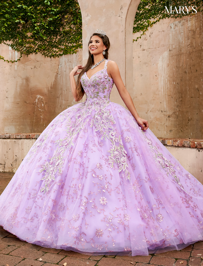 Lilac Color Carmina Quinceanera Dresses - Style - MQ1073