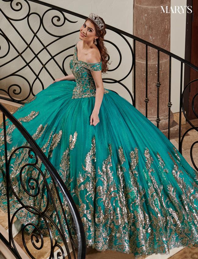 Color Carmina Quinceanera Dresses - Style - MQ1075