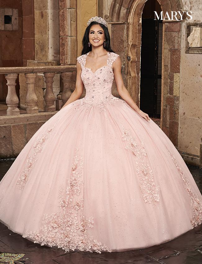 Blush Color Carmina Quinceanera Dresses - Style - MQ1081