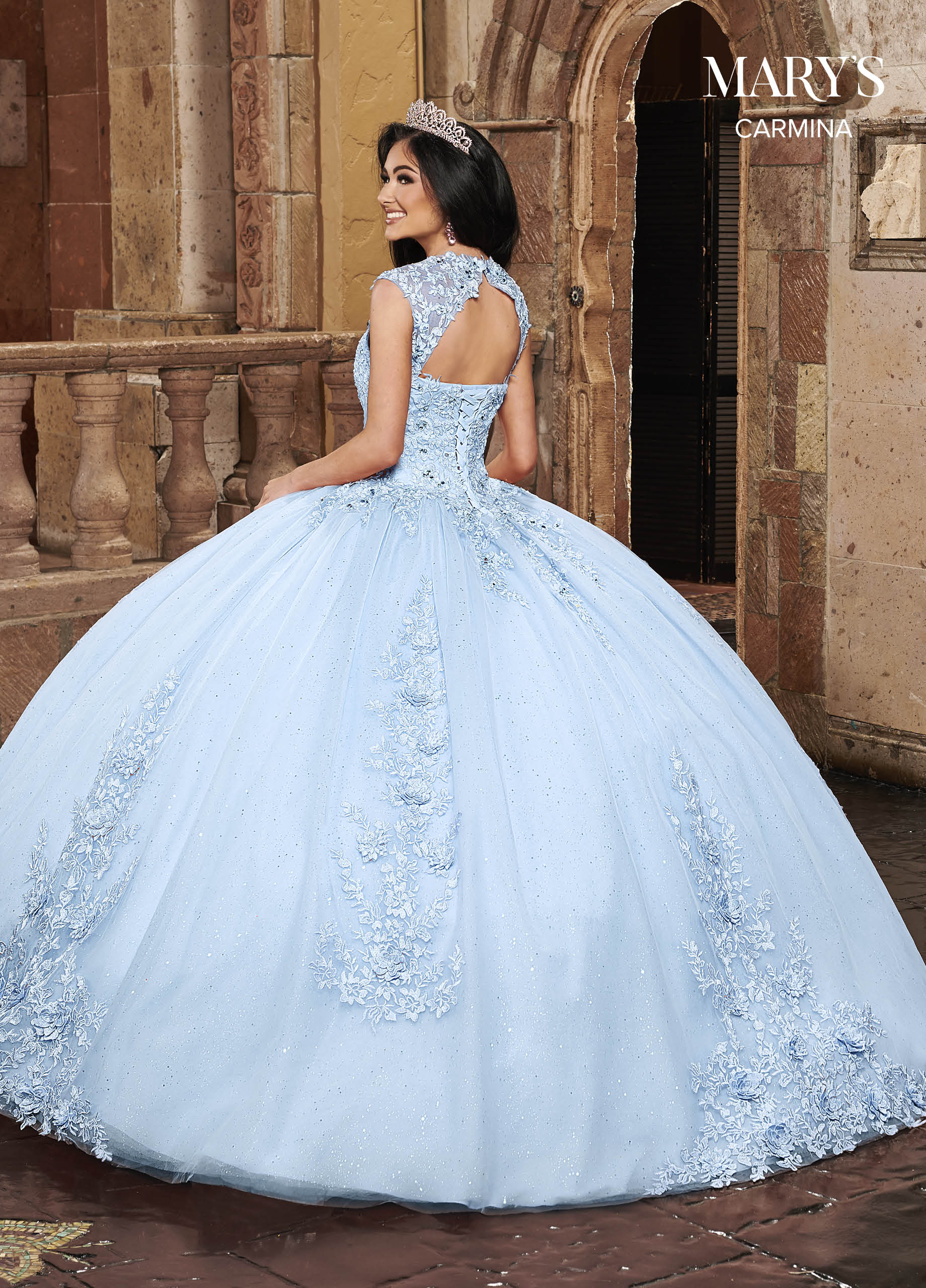 Carmina Quinceanera Dresses | Carmina | Style - MQ1081