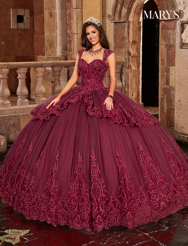 Blush Color Carmina Quinceanera Dresses - Style - MQ1084