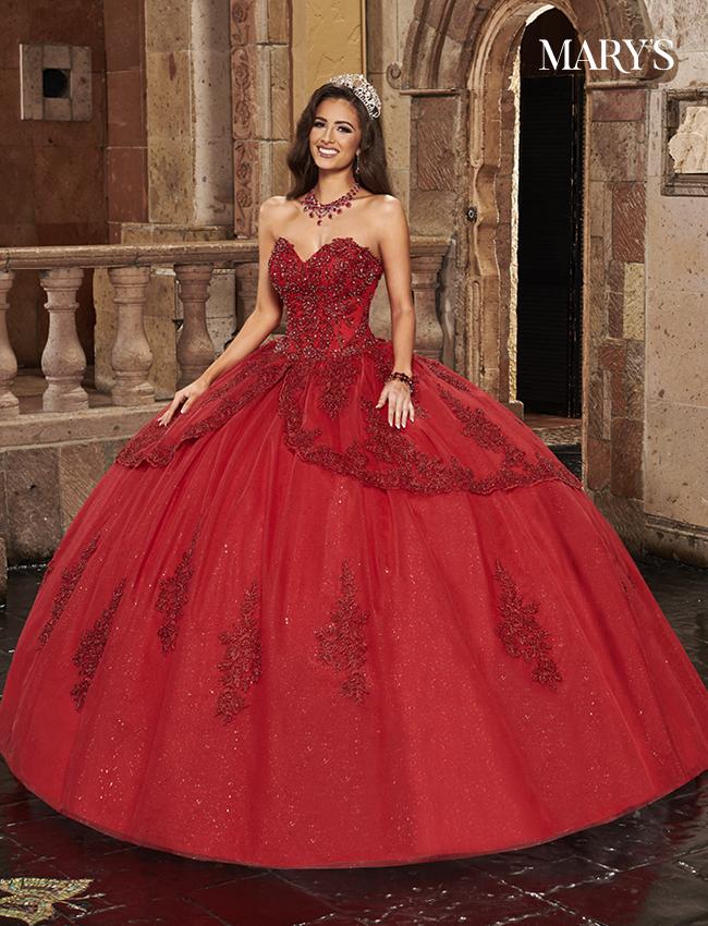 Champagne Color Carmina Quinceanera Dresses - Style - MQ1086