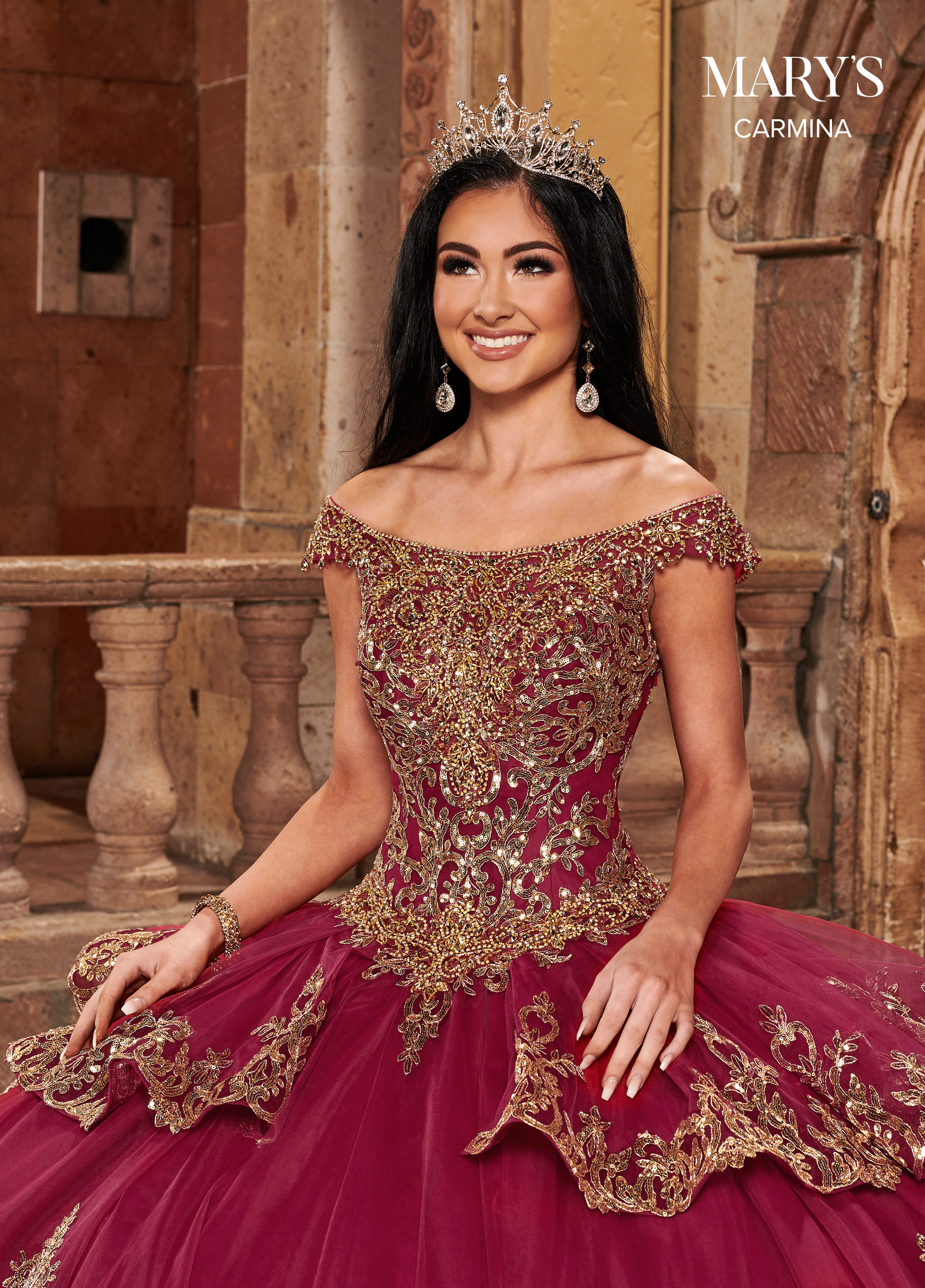 Carmina Quinceanera Dresses | Carmina | Style - MQ1089
