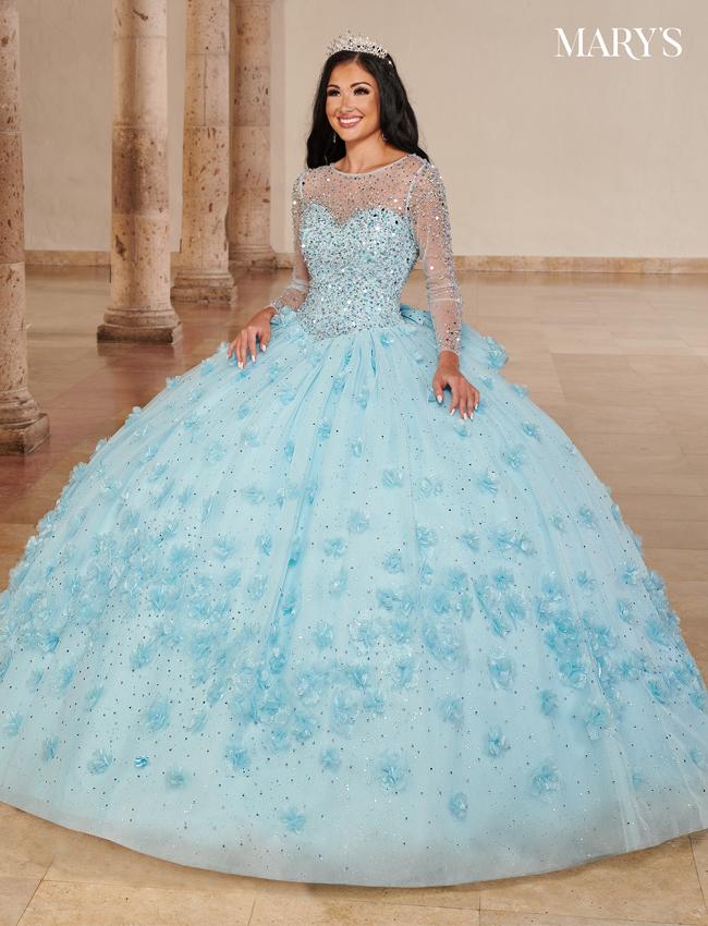 Color Carmina Quinceanera Dresses - Style - MQ1096
