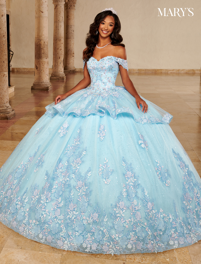 Color Carmina Quinceanera Dresses - Style - MQ1098