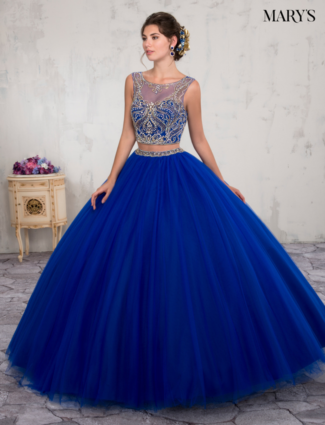 Royal Color Marys Quinceanera Dresses - Style - MQ2005