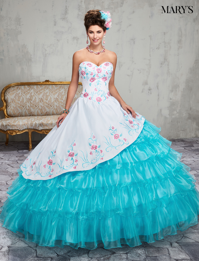 Color Marys Quinceanera Dresses - Style - MQ2015