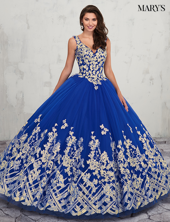 Royal Color Marys Quinceanera Dresses - Style - MQ2018
