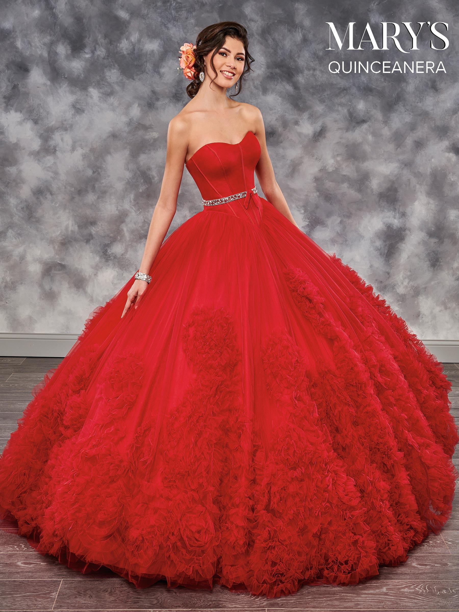 5869c00b1e26 Marys Quinceanera Dresses | Style - MQ2024 in Ivory, Powder Blue ...