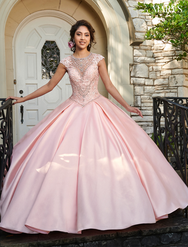 Blush Color Lareina Quinceanera Dresses - Style - MQ2025