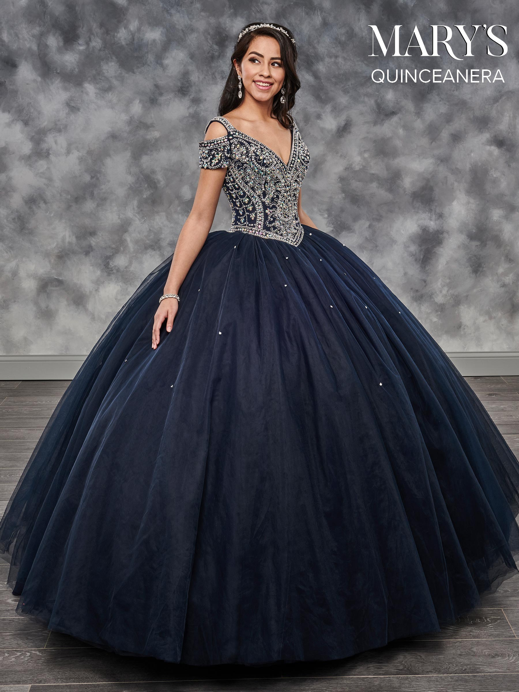 Marys Quinceanera Dresses Style Mq2026 In Light Jade