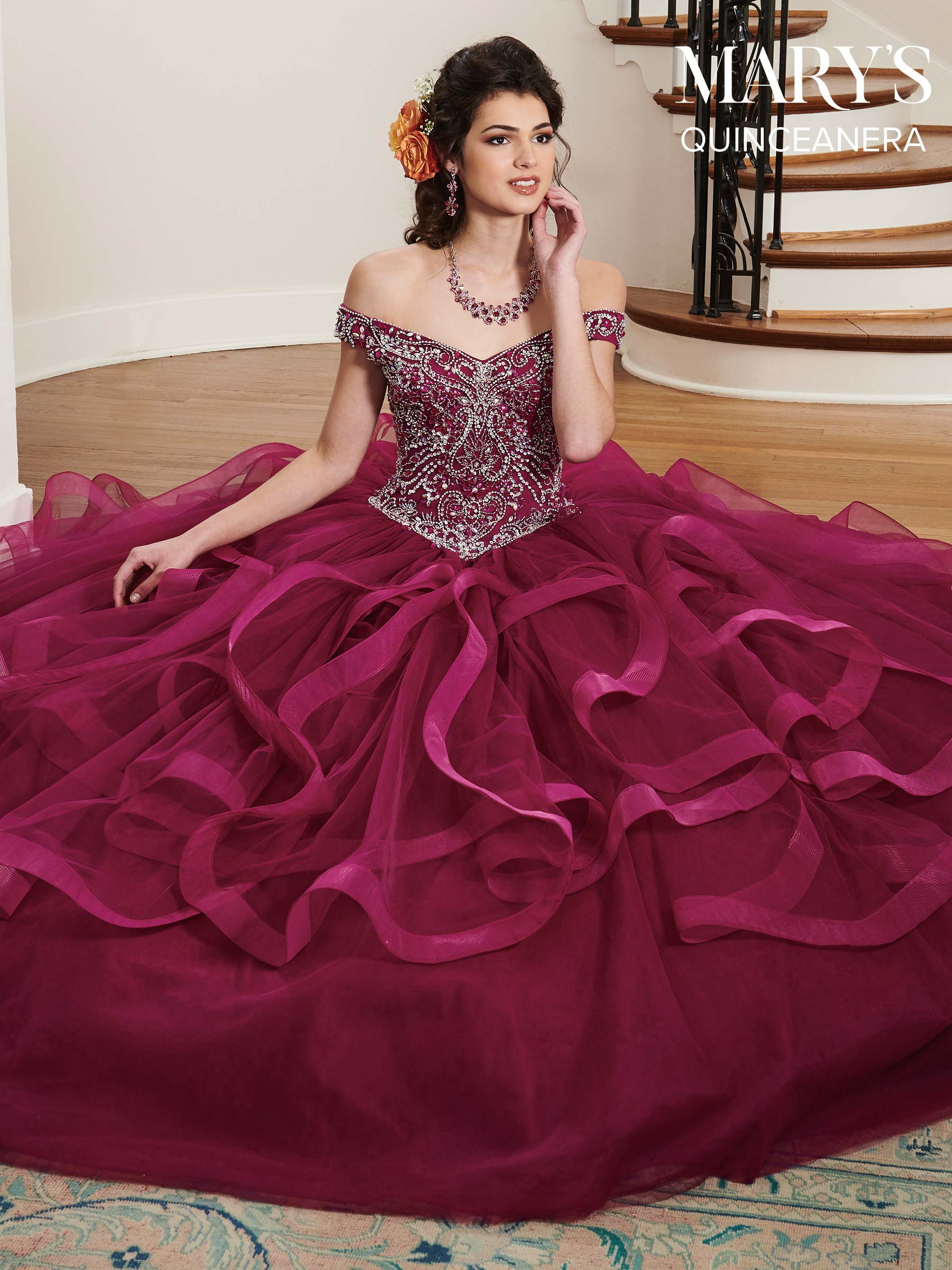Marys Quinceanera Dresses | Mary's Quinceanera | Style - MQ2027
