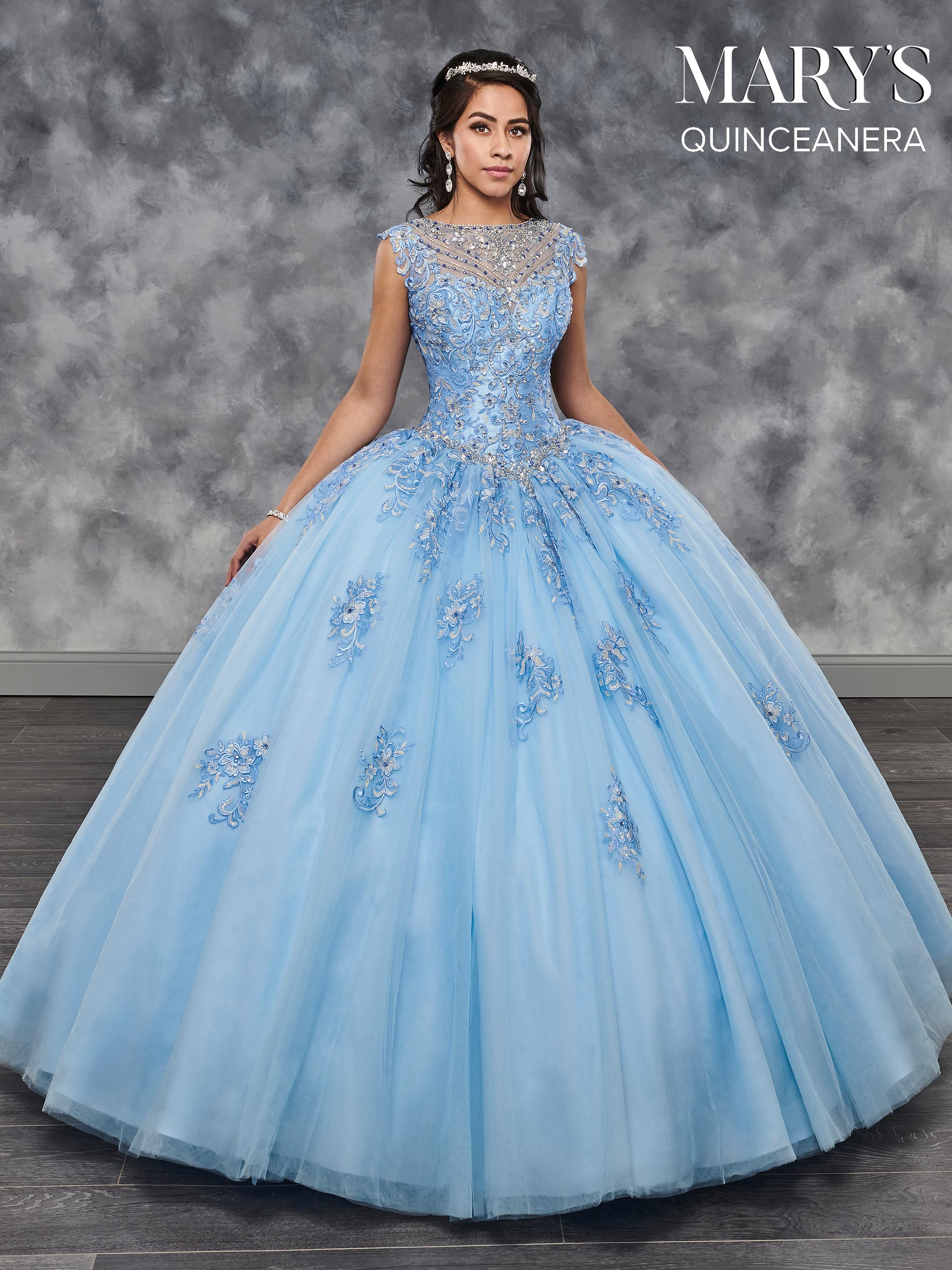 marys quinceanera dresses style mq2029 in baby blue