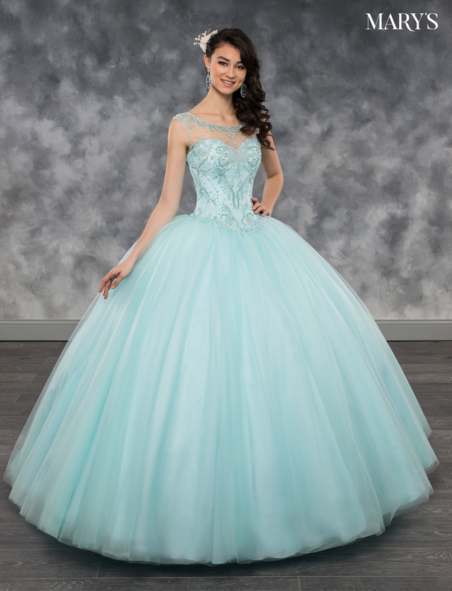 Mermaid Color Lareina Quinceanera Dresses - Style - MQ2033