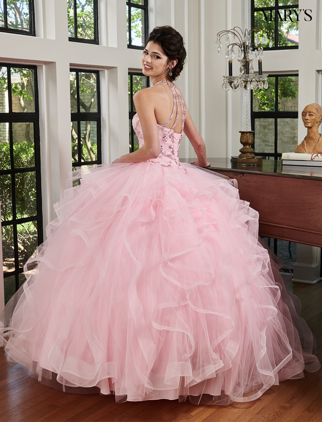 Burgundy Color Lareina Quinceanera Dresses - Style - MQ2040