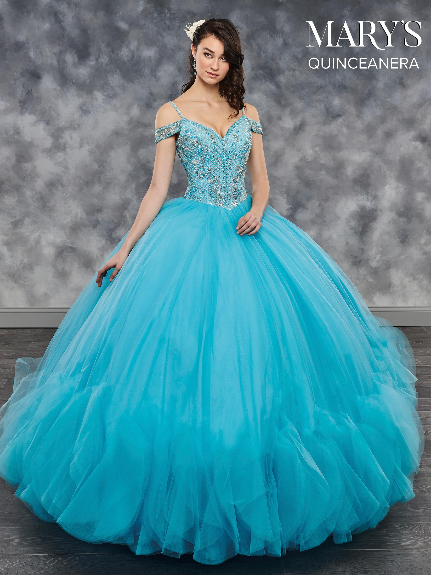 Marys Quinceanera Dresses - Marys Quinceanera - Style  Mq2041
