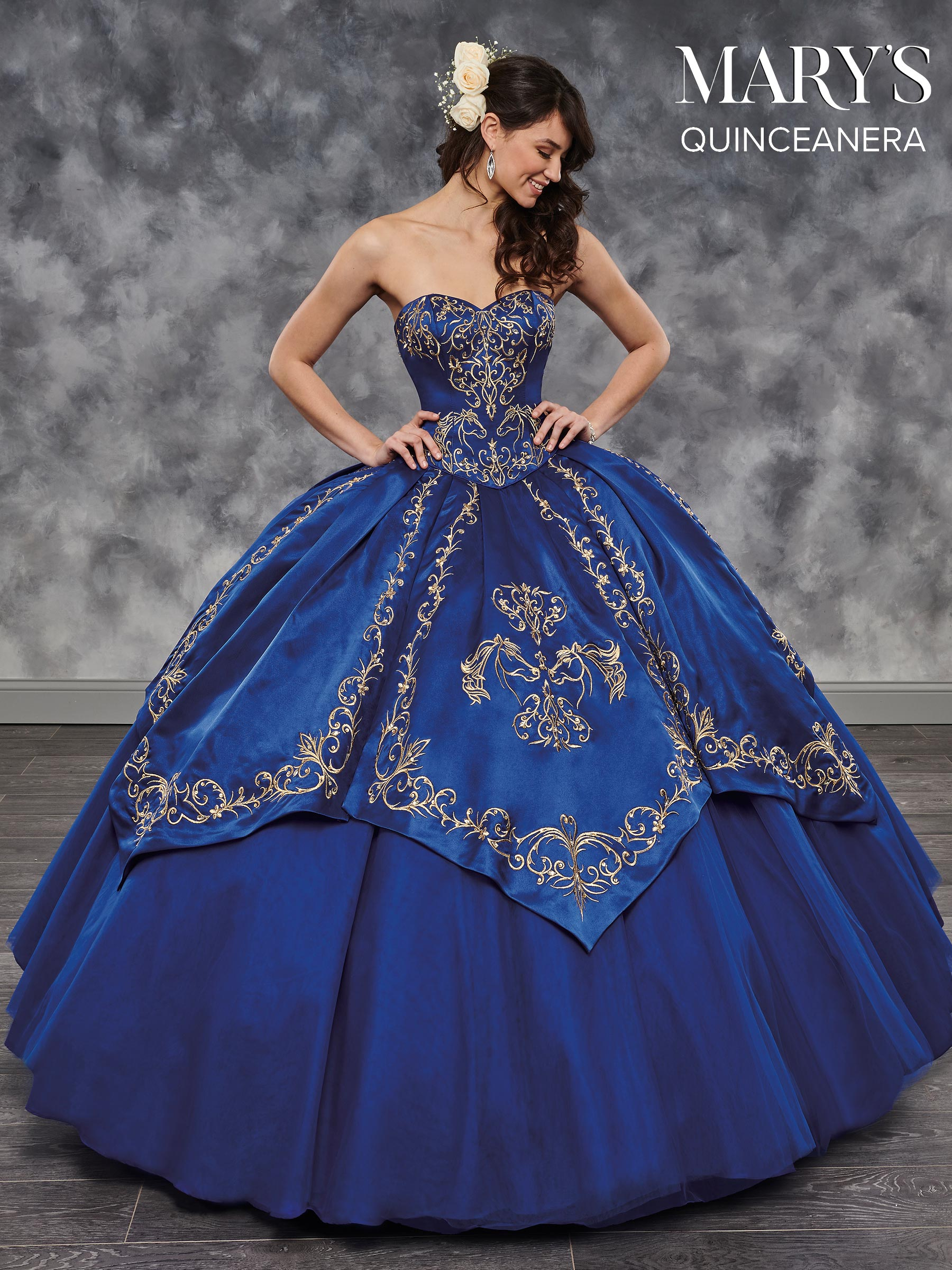 Marys Quinceanera Dresses Style Mq2044 In Burgundy