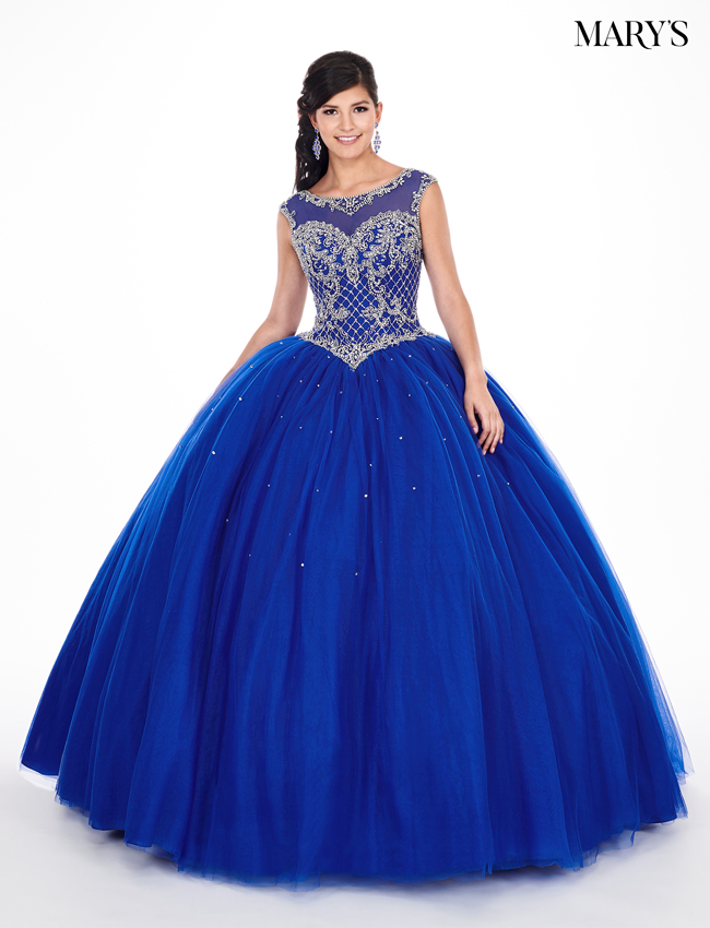 Royal Color Lareina Quinceanera Dresses - Style - MQ2047
