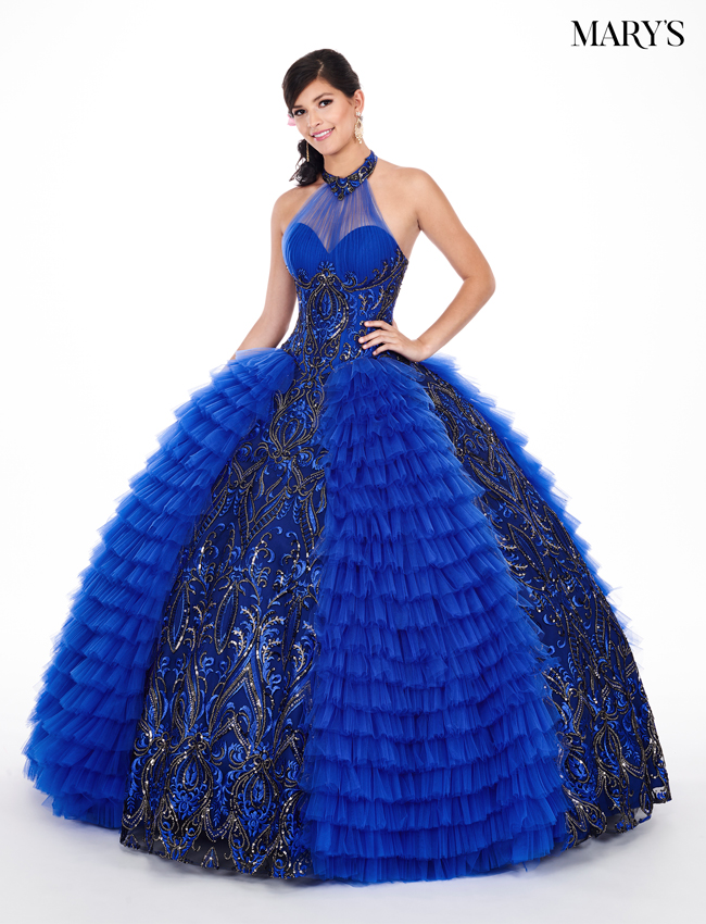 Royal Color Marys Quinceanera Dresses - Style - MQ2050