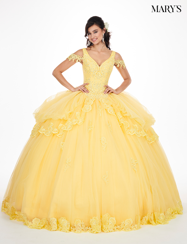 Aqua Color Marys Quinceanera Dresses - Style - MQ2051