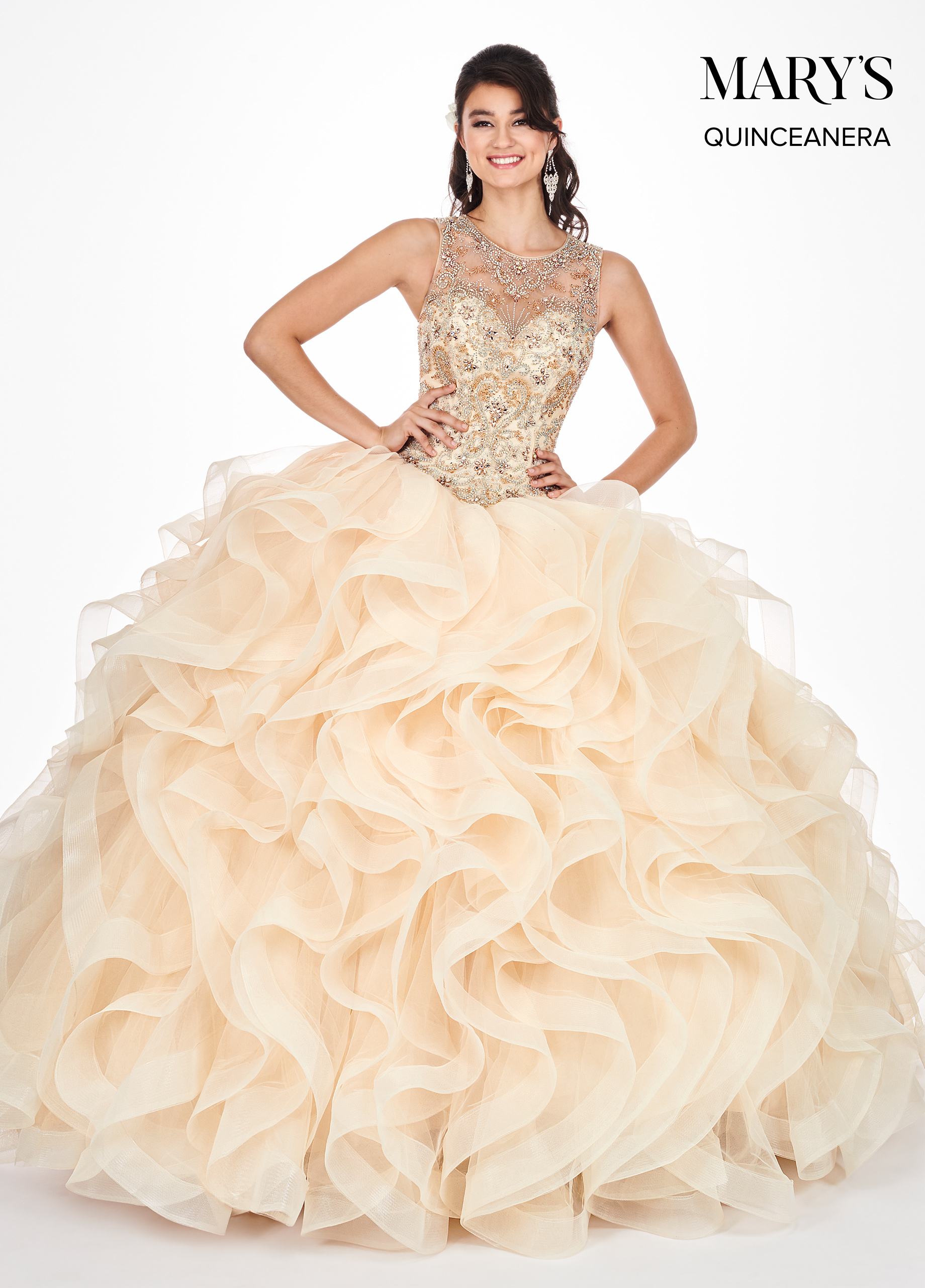 Marys Quinceanera Dresses | Mary's Quinceanera | Style - MQ2054