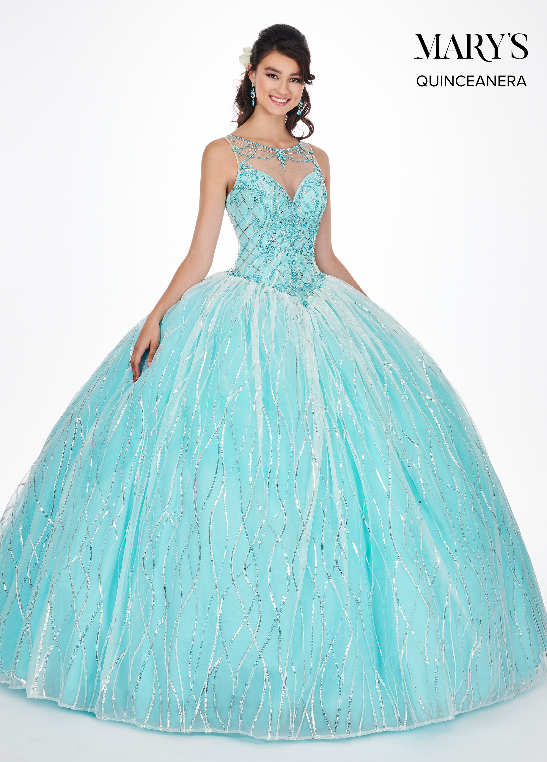 Marys Quinceanera Dresses | Mary's Quinceanera | Style - MQ2057