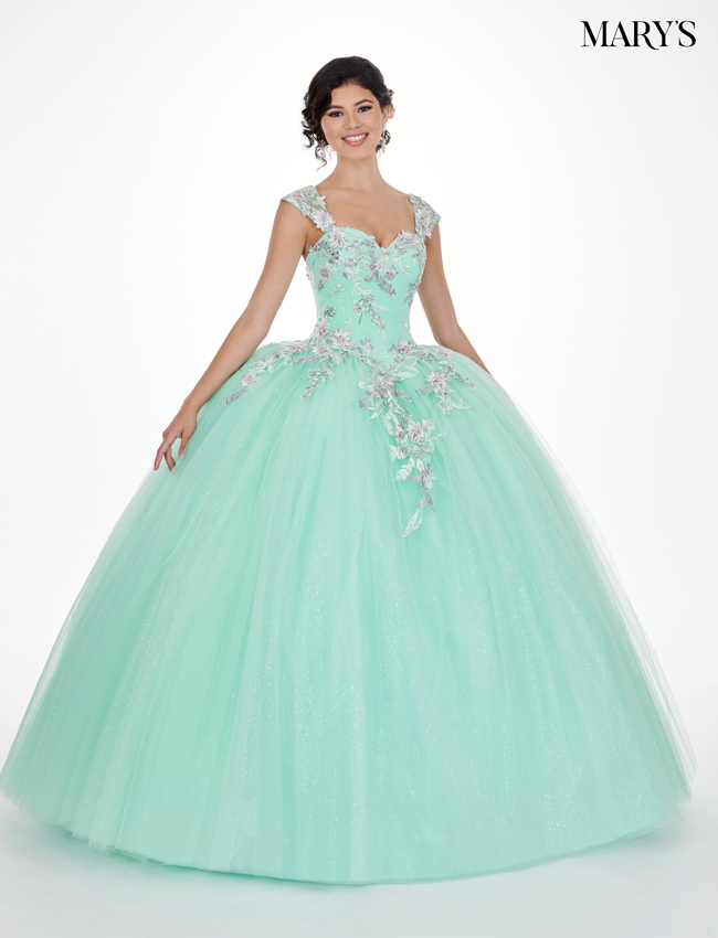 Mint Color Lareina Quinceanera Dresses - Style - MQ2067