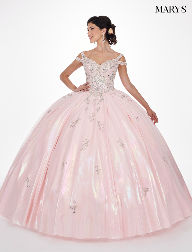 Pink Color Marys Quinceanera Dresses - Style - MQ2070
