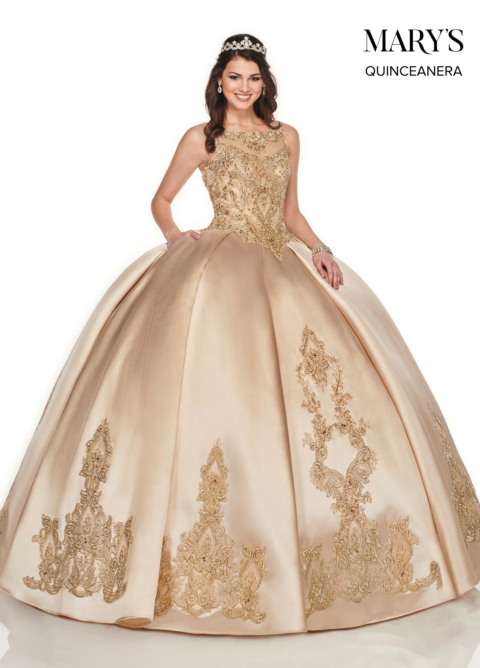 Marys Quinceanera Dresses | Mary's Quinceanera | Style - MQ2081