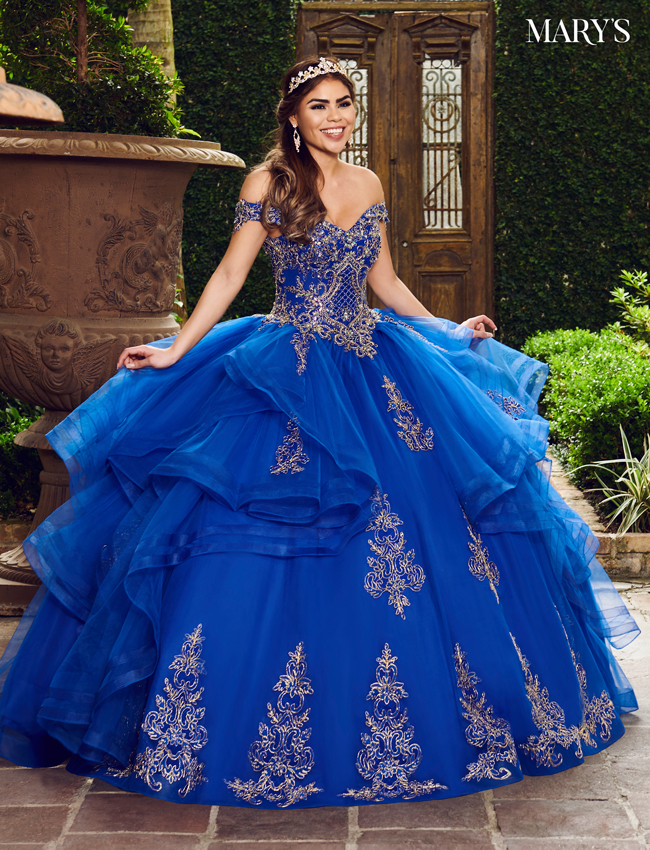 Royal Color Marys Quinceanera Dresses - Style - MQ2083