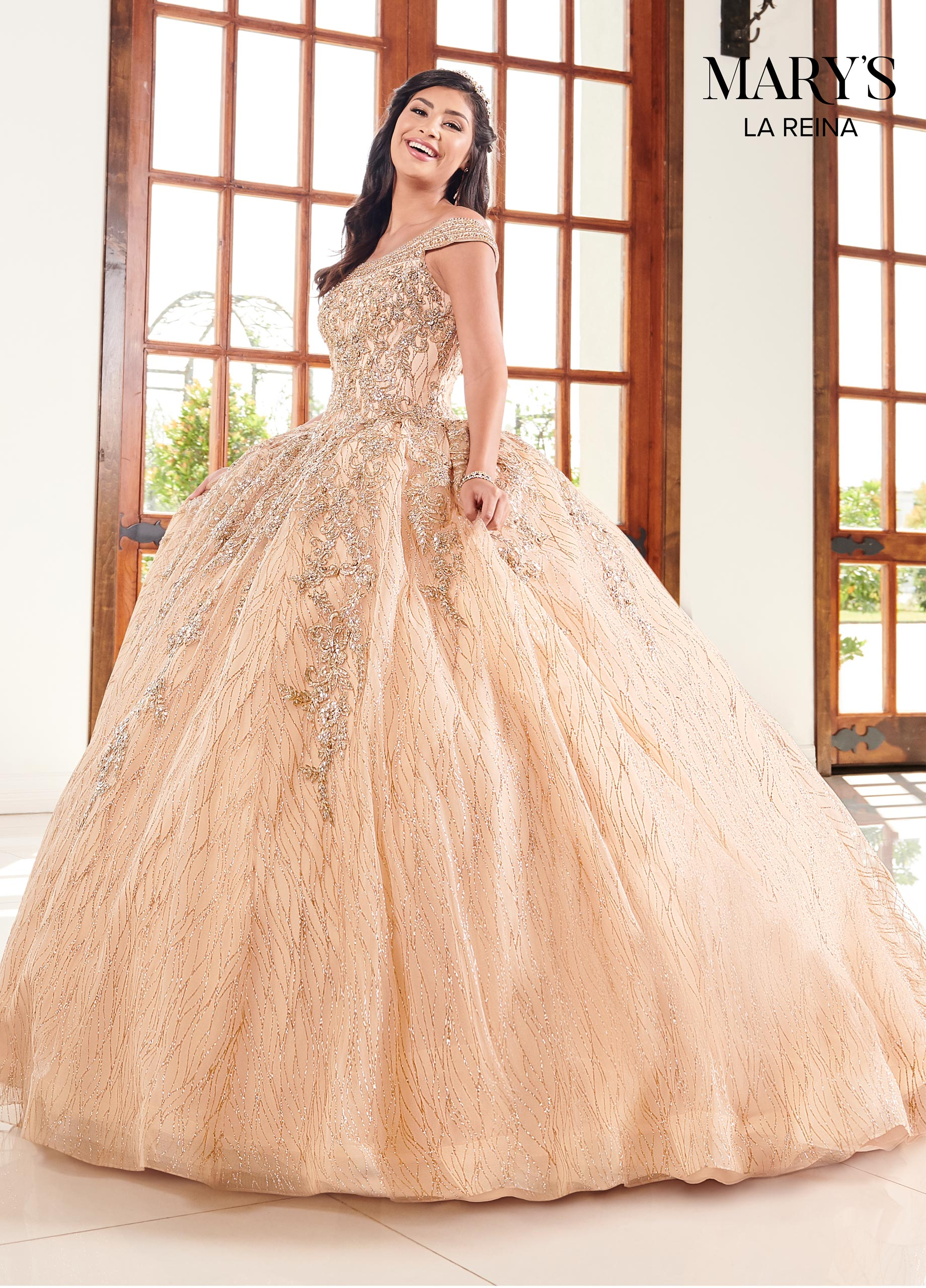 Marys Quinceanera Dresses | Mary's Quinceanera | Style - MQ2095