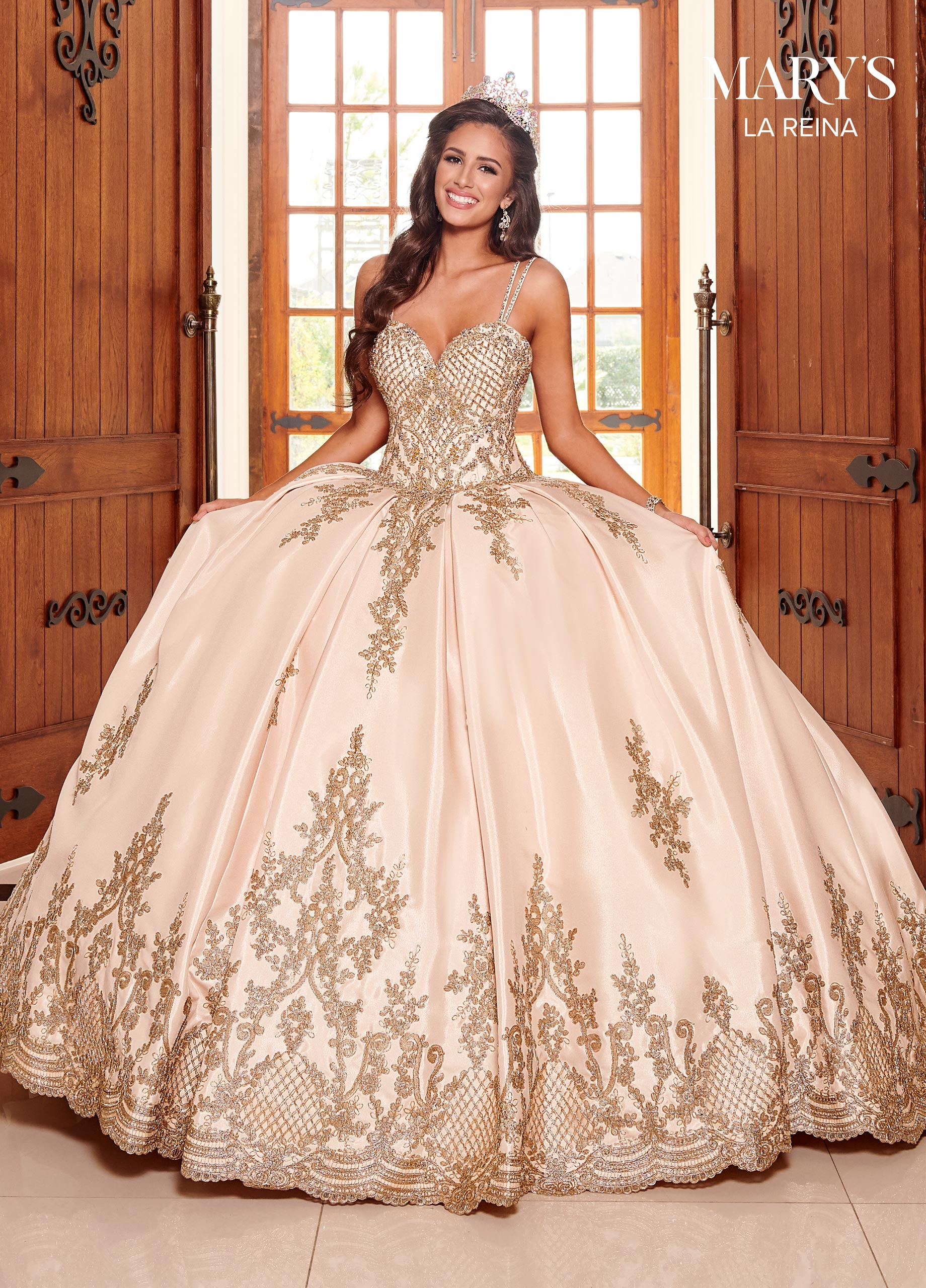 Marys Quinceanera Dresses | Mary's Quinceanera | Style - MQ2105