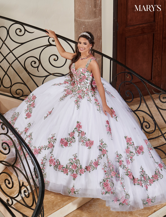 White Color Lareina Quinceanera Dresses - Style - MQ2116