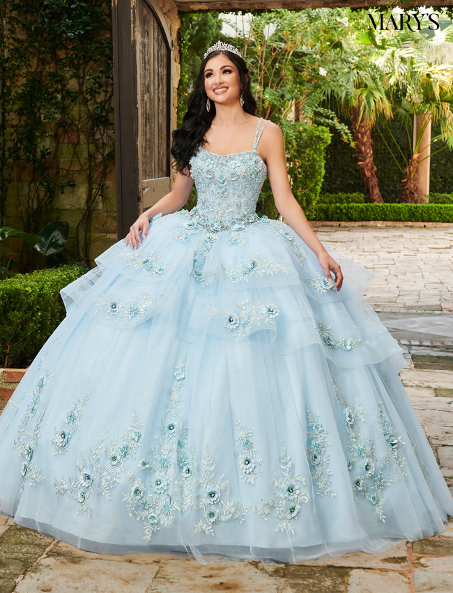 Lilac Color Lareina Quinceanera Dresses - Style - MQ2124