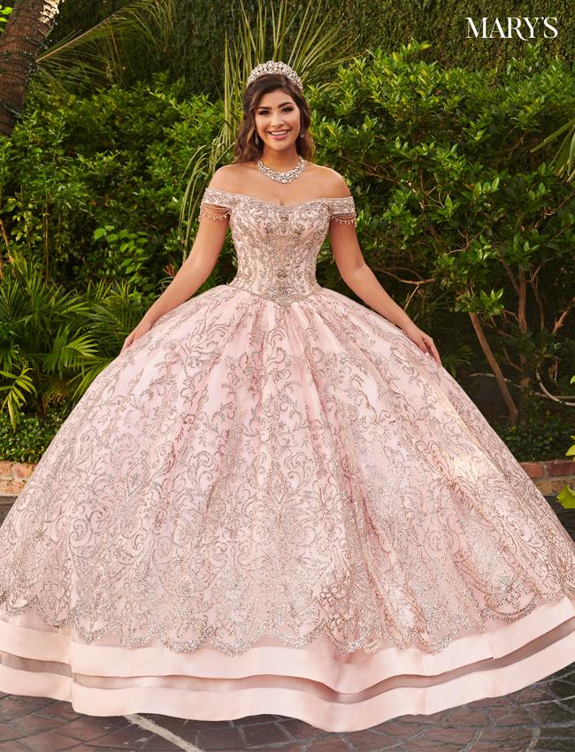 Blush Color Lareina Quinceanera Dresses - Style - MQ2127