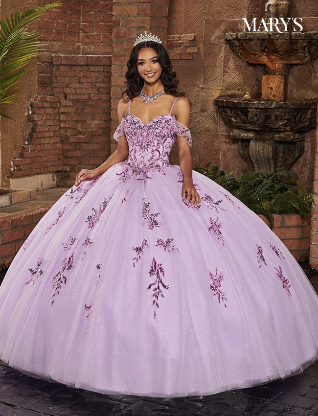 Lilac Color Lareina Quinceanera Dresses - Style - MQ2130