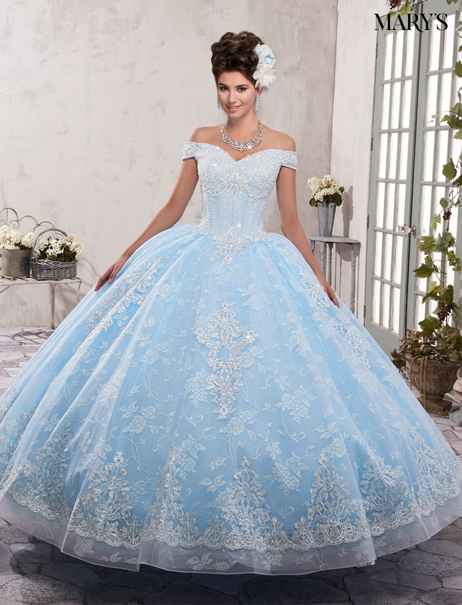 Color Quinceanera Couture Dresses - Style - MQ3001