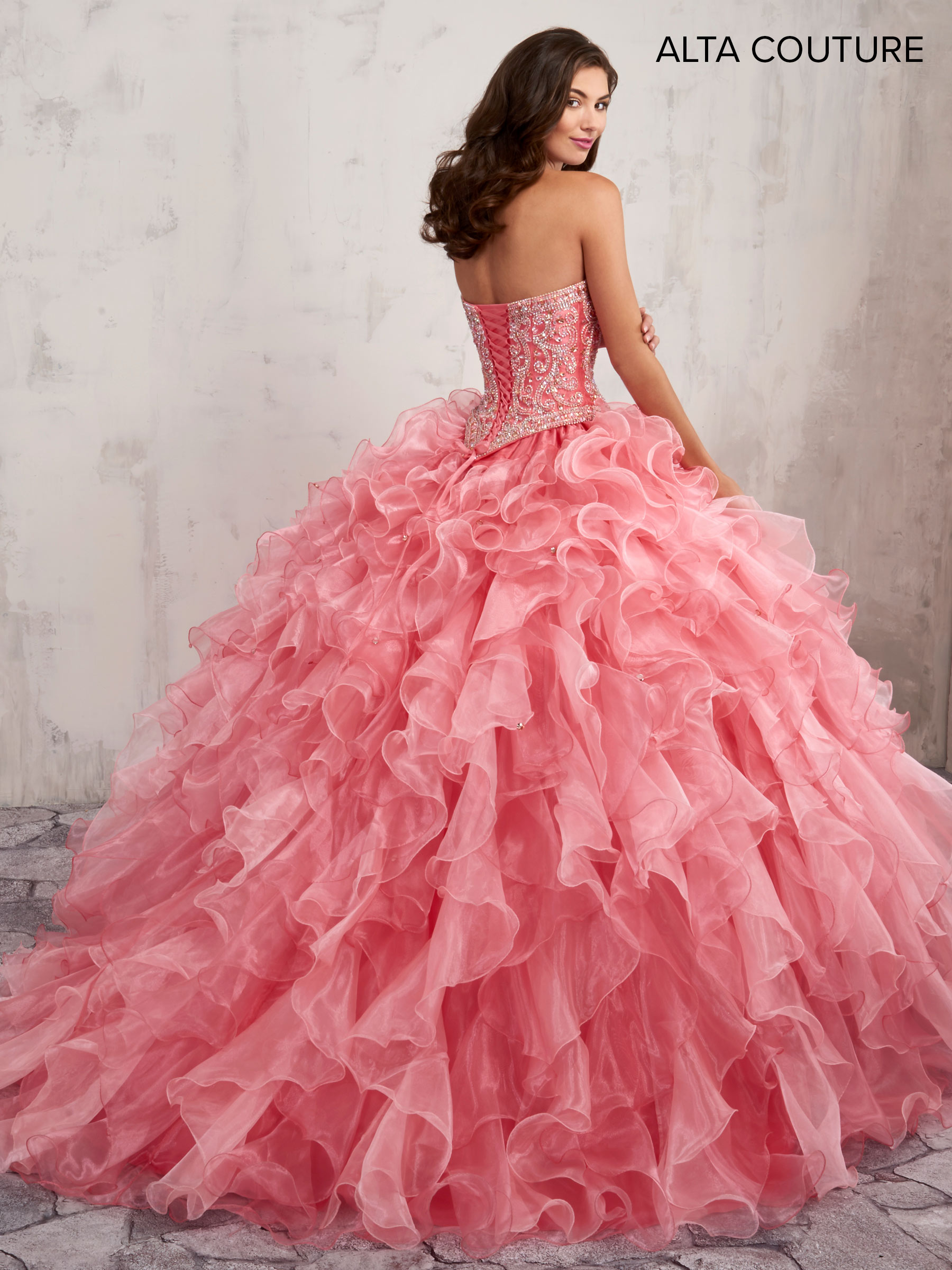 Quinceanera Couture Dresses | Alta Couture | Style - MQ3002