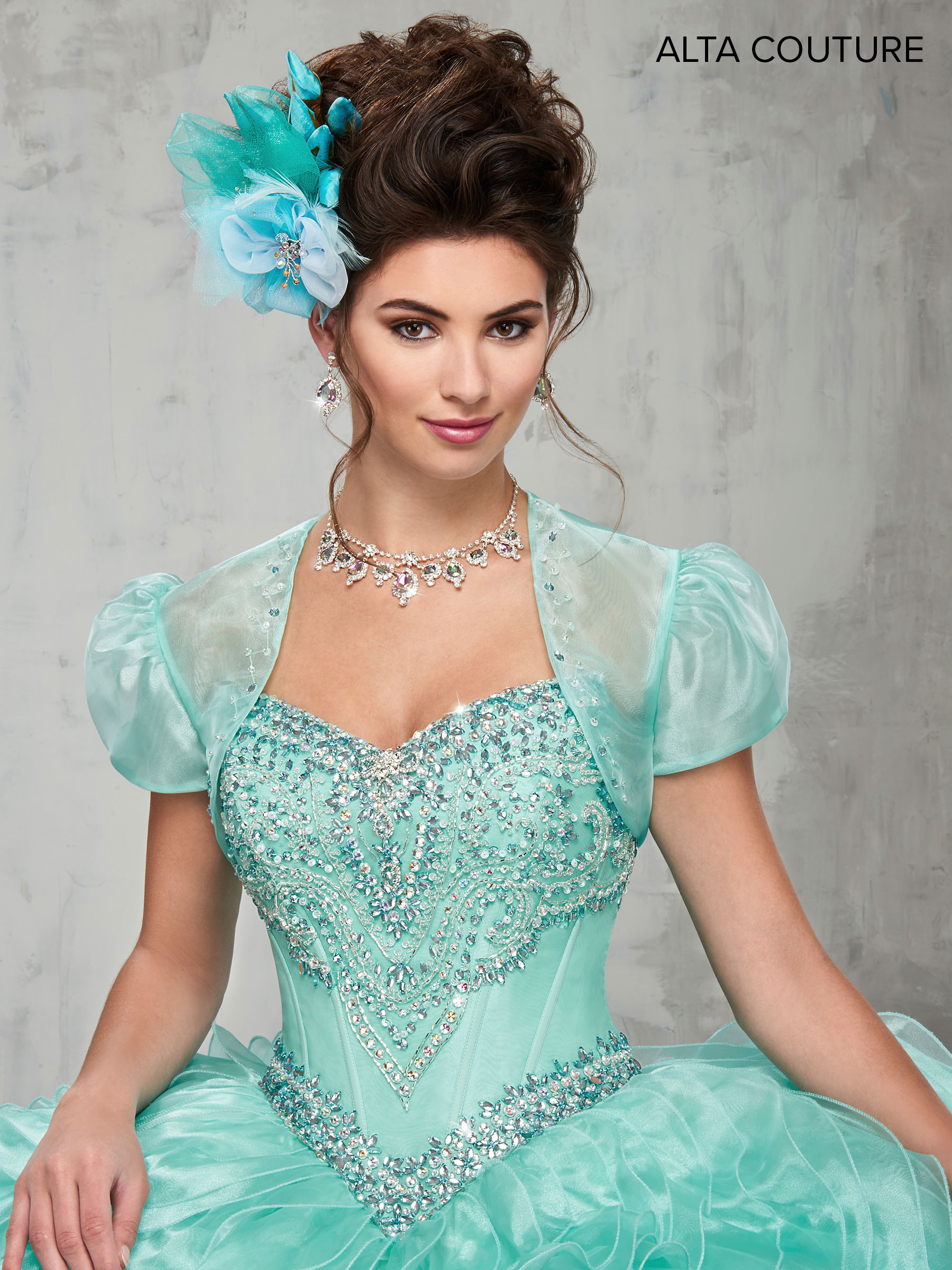 Quinceanera Couture Dresses   Alta Couture   Style - MQ3004