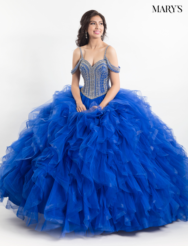 Royal Color Quinceanera Couture Dresses - Style - MQ3009