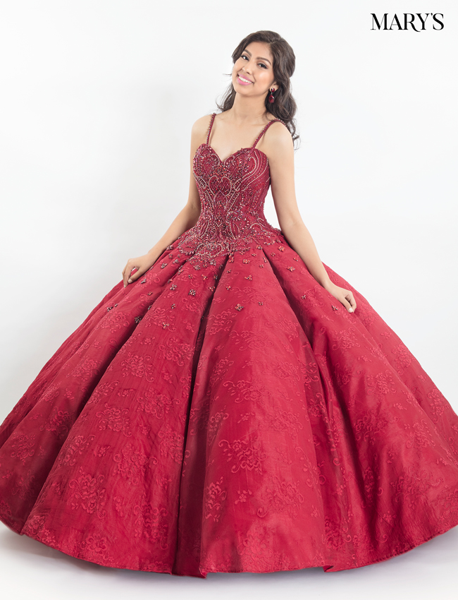 Coral Color Quinceanera Couture Dresses - Style - MQ3012